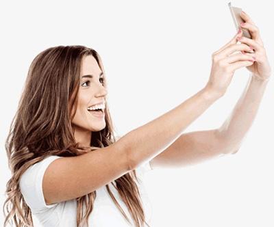 Selfie instructies